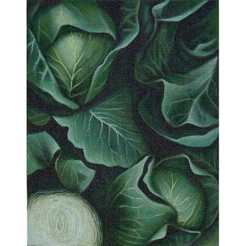 click here to view larger image of Cabbage 1 (hand painted canvases)