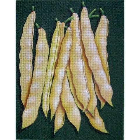 click here to view larger image of Lima Beans (hand painted canvases)