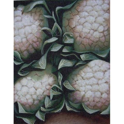 click here to view larger image of Cauliflower (hand painted canvases)
