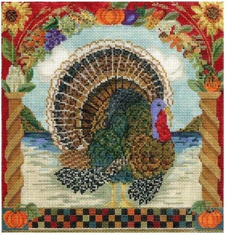 click here to view larger image of Handsome Tom Turkey (hand painted canvases)