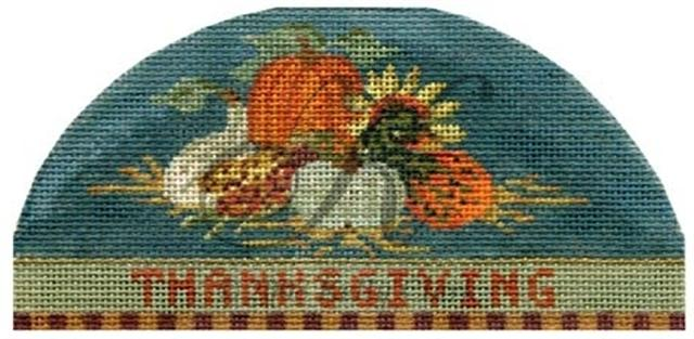 click here to view larger image of An Elegant Thanksgiving (hand painted canvases)