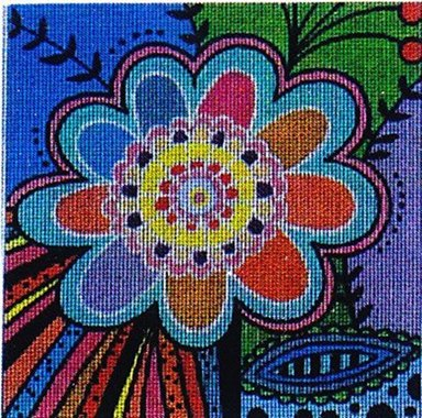 click here to view larger image of Flowerz 1 (hand painted canvases)