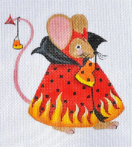 click here to view larger image of Devil Mouse (hand painted canvases)