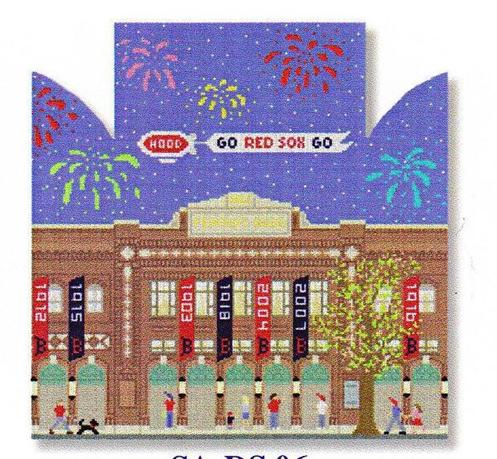 click here to view larger image of Fenway Park Door Stop (hand painted canvases)