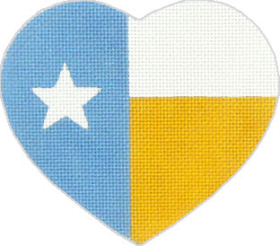 click here to view larger image of Deep In The Heart of Texas - Texas Flag (hand painted canvases)