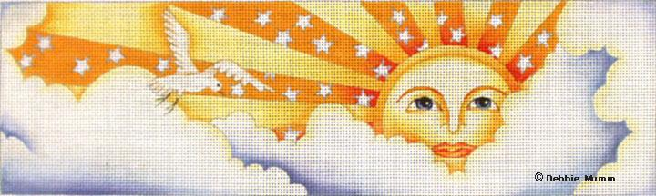 click here to view larger image of Rising Sun (hand painted canvases)