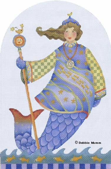 click here to view larger image of Queen of the Sea (hand painted canvases)