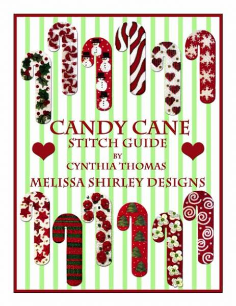 click here to view larger image of Candy Cane Stitch Guide (books)