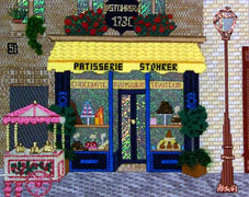 click here to view larger image of Stohrer Patisserie (hand painted canvases)