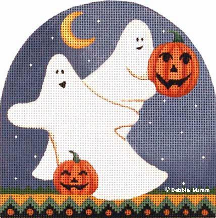 click here to view larger image of Free Spirits - Trick or Treat Series (hand painted canvases)