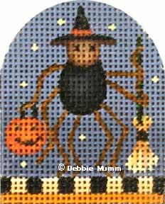 click here to view larger image of Charlotte Trick or Treat Series (hand painted canvases)