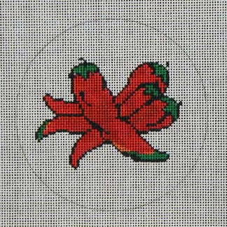 click here to view larger image of Chili Ornament (hand painted canvases)