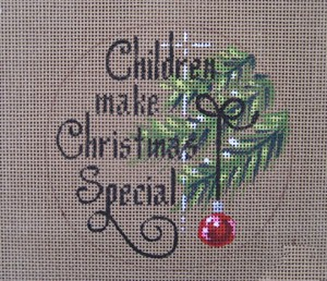 click here to view larger image of Children Make Christmas Special (hand painted canvases)