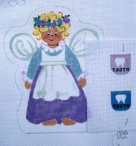 click here to view larger image of Tooth Fairy Angel (hand painted canvases)