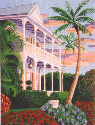 Key West Sunset hand painted canvases