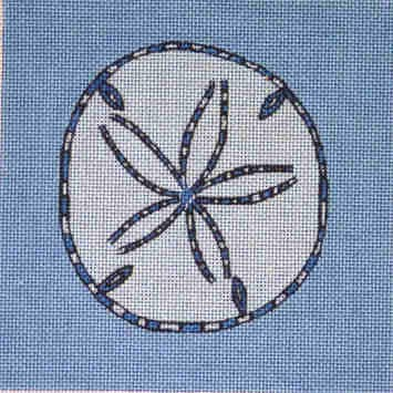 click here to view larger image of Sand Dollar (hand painted canvases)