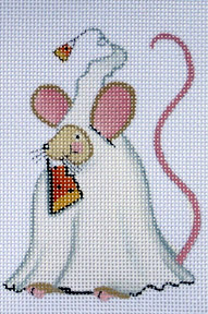 click here to view larger image of Ghost Mouse (hand painted canvases)