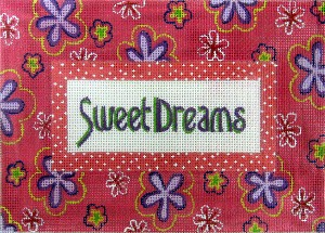 click here to view larger image of Sweet Dreams (Girl) (hand painted canvases)