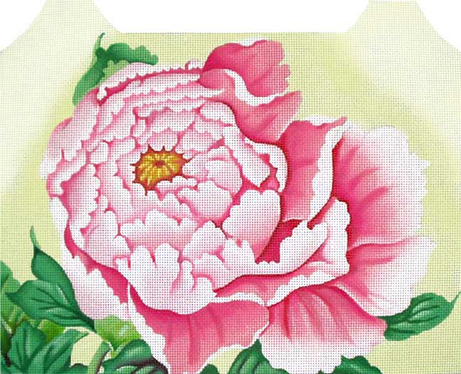 click here to view larger image of Pink Peony (hand painted canvases)