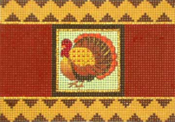click here to view larger image of Thanksgiving Cracker - Turkey (hand painted canvases)