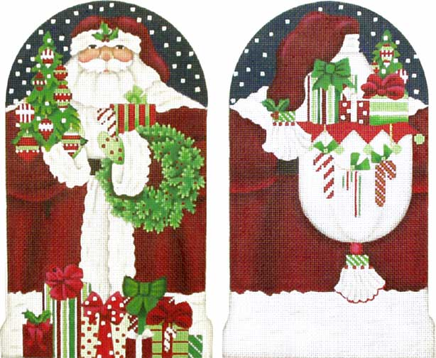 click here to view larger image of Classic Santa Stand-Up (13m) (hand painted canvases)