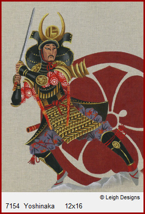 click here to view larger image of Yoshinaka (hand painted canvases)