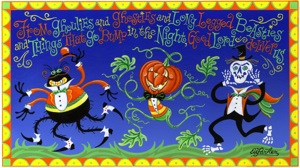 click here to view larger image of Ghoulies (hand painted canvases)