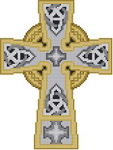click here to view larger image of Celtic 1 Cross (hand painted canvases)