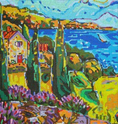 click here to view larger image of Italian Countryside (hand painted canvases)