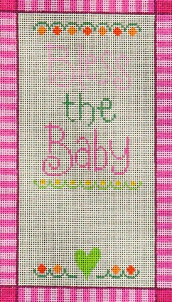 click here to view larger image of Bless the Baby Girl  (hand painted canvases)