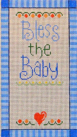 click here to view larger image of Bless the Baby Boy (hand painted canvases)