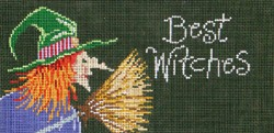click here to view larger image of Best Witches  (hand painted canvases)
