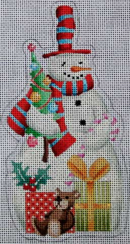 click here to view larger image of Snowman (hand painted canvases)
