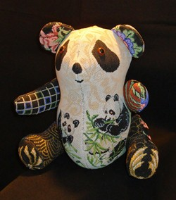 click here to view larger image of Panda Bear (hand painted canvases)