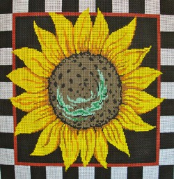 click here to view larger image of Large Sunflower (hand painted canvases)