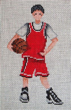 click here to view larger image of Individual Basketball (hand painted canvases)