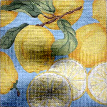 click here to view larger image of Lemon Cluster (hand painted canvases)