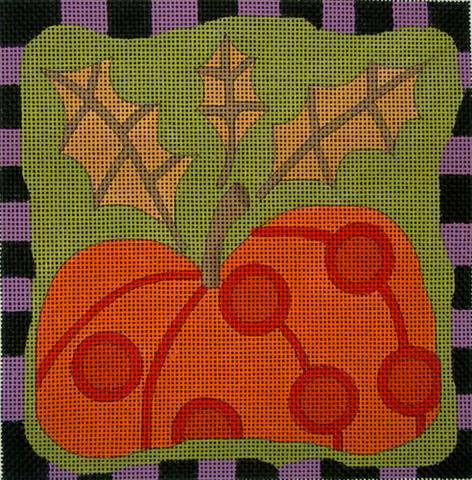 click here to view larger image of Autumn Pumpkin (hand painted canvases)