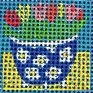 click here to view larger image of Tulips (hand painted canvases)