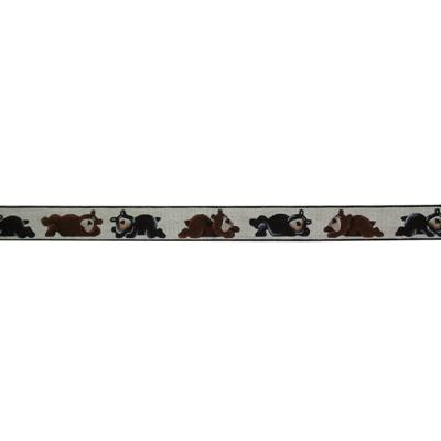 click here to view larger image of Bear Belt (hand painted canvases)
