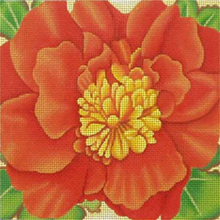 click here to view larger image of Begonia (hand painted canvases)