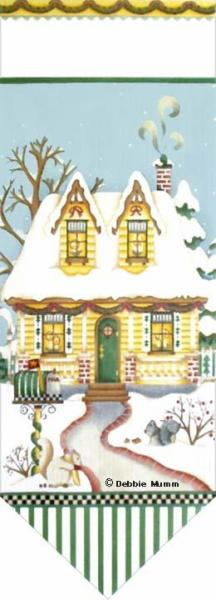 click here to view larger image of Candlelight Cottage Banner (hand painted canvases)