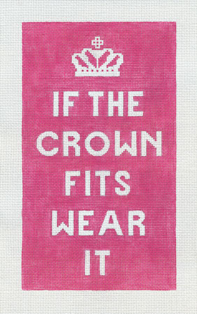 click here to view larger image of If The Crown Fits (hand painted canvases)