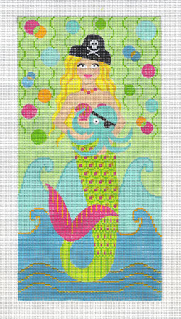 click here to view larger image of Pirate Mermaid (hand painted canvases)