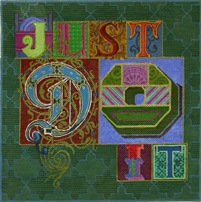 click here to view larger image of Just Do It (hand painted canvases)