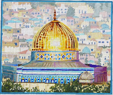 click here to view larger image of Dome of the Rock (hand painted canvases)
