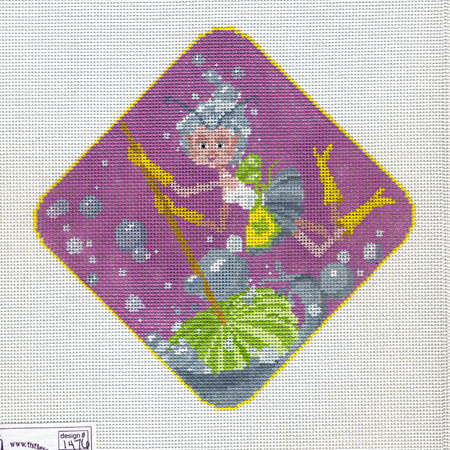 click here to view larger image of Kitchen Pixie (hand painted canvases)
