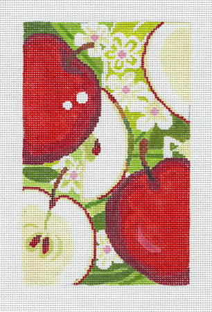 click here to view larger image of Apples sm (hand painted canvases)