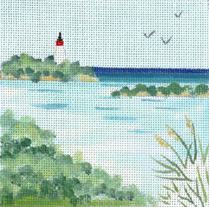 click here to view larger image of Lighthouse (hand painted canvases)