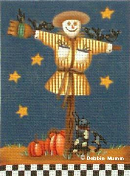 click here to view larger image of Terrence the Scarecrow (hand painted canvases)